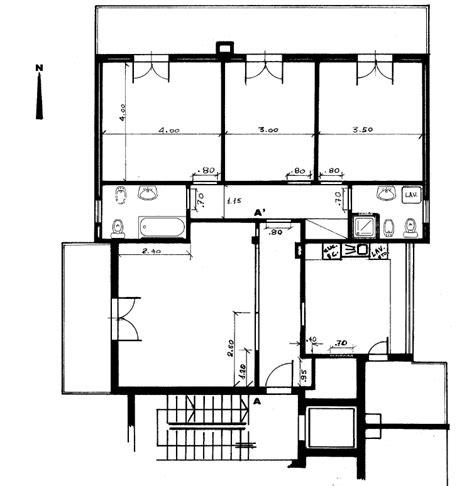 appartamento  vimercate piantina quotata