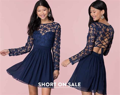 Faviana Lace-embroidered Dress S7668