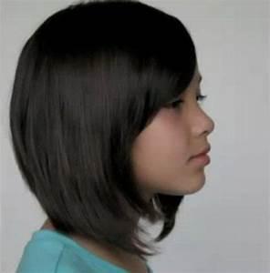 Coiffure Carre Plongeant : coiffure carre plongeant petite fille ~ Nature-et-papiers.com Idées de Décoration