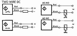 Two Wire Proximity Switch Wiring Diagram  Electrical