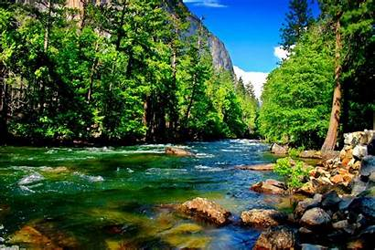 River Mountain Wallpapers Background Resolution Nature Creeks
