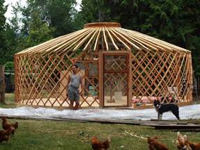 searchable house plans who built this yurt the yurt is born