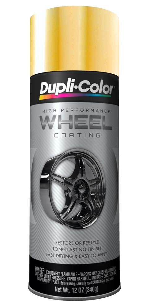 dupli color paint hwp107 dupli color wheel coating high performance gold 11 oz aerosol