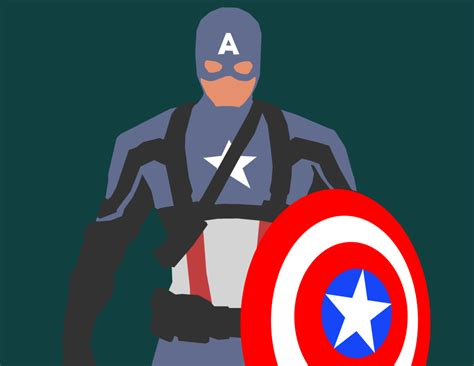 Captain America Animated Wallpaper - captain america minimalist wallpaper wallpapersafari