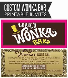 willy wonka bar wrapper golden ticket by With willy wonka candy bar wrapper template