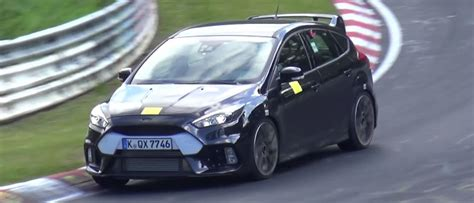 Focus Rs Nurburgring Time by The 2016 Ford Focus Rs Get Driven Like A Yob At The