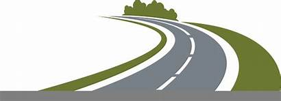 Road Winding Clipart Country Clip Vector Clker