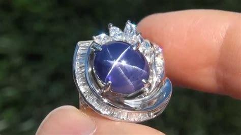 Blue Safir Ster batu blue safir asli
