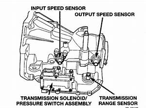 Where Is The Speedometer Sensor On A 2001 Dodge Caravan  I