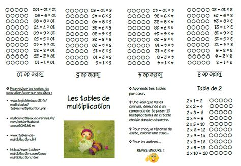 tables de multiplication ludique tables de multiplication de 3 a 19 search results calendar 2015