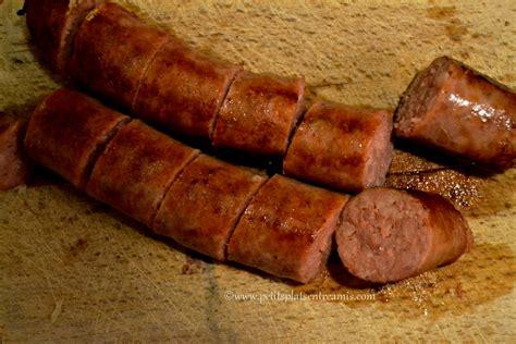 comment cuisiner des saucisses de toulouse comment cuire saucisse de toulouse