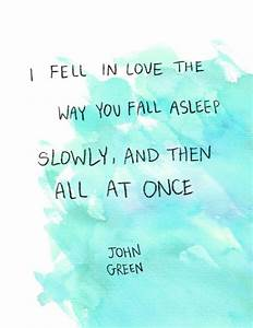 The Fault In Our Stars By John Green Quotes. QuotesGram