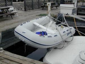 Buy A Boat Put Out Or Swim by Guide To Dinghy Mounts Dinghy Davits Marine Review