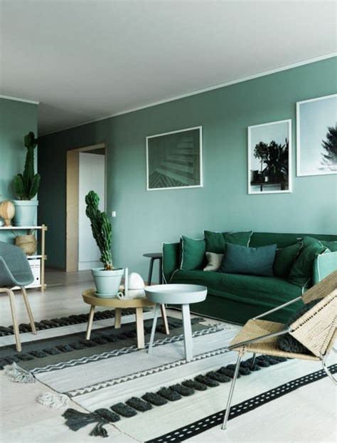 canapé vert salon avec canape d angle valdiz