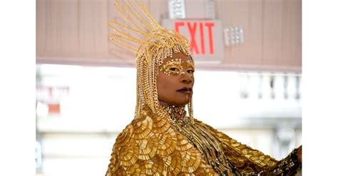 Billy Porter The Met Gala Popsugar Celebrity Photo