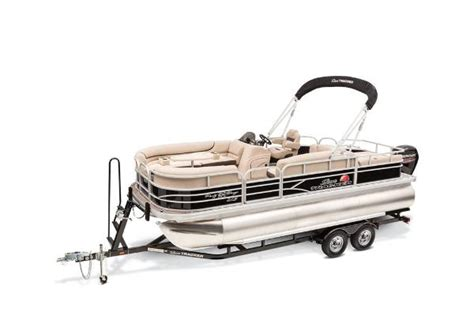 Bass Pro Shop Used Pontoon Boats by Sun Tracker Barge 22 Xp3 Pontoon Boats New In