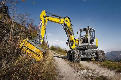 wacker neuson ew wheeled excavators year   sale mascus usa