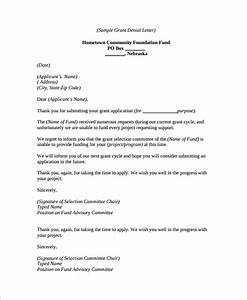How To Write Loan Application Free 8 Sample Denial Letter Templates In Ms Word Pdf