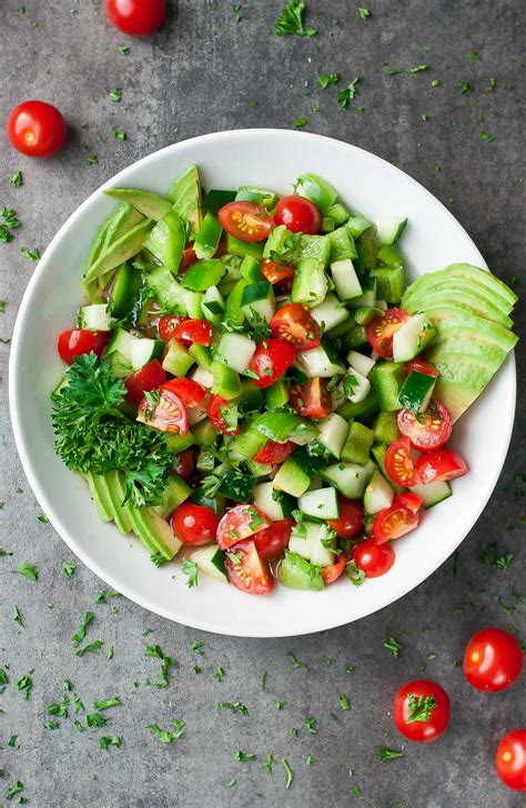 20 easy healthy salad recipes peas and crayons blog