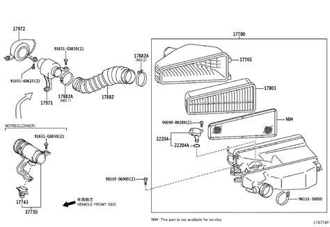 Toyotum Fj Cruiser Engine Diagram by Toyota Fj Cruiser Air Filter And Housing Engine Cleaner
