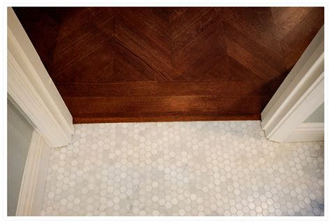 Marble Hexagon Floor Tile by Master Bathroom F A Q Ink Press