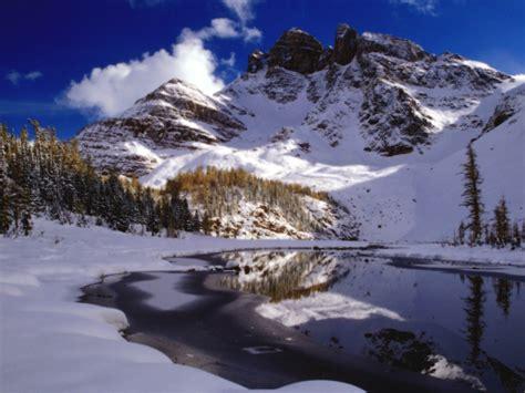 Winter Mountain Scenes Wallpaper-wallpapersafari