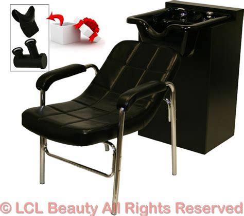 salon sink and chair combo new black ceramic shoo bowl sink cabinet styling chair