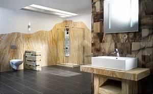 Tapeten Badezimmer Beispiele : tapeten f rs badezimmer bei hornbach ~ Markanthonyermac.com Haus und Dekorationen