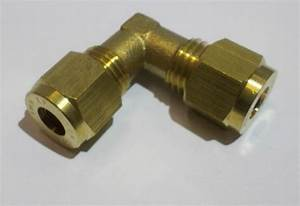 Buy 6mm Brass Compression Fitting Straight Reducer Elbow
