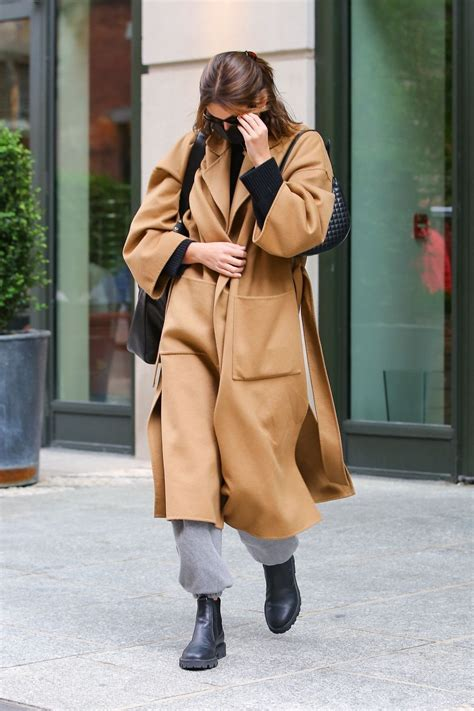 Kaia Gerber Leaving the Crosby hotel in NYC - Celebzz ...
