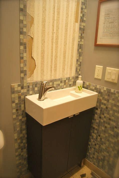 small narrow  bathroom ideas modern double sink