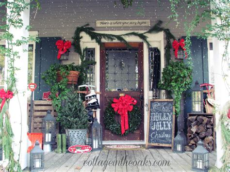 13 Stunning Christmas Porch Decor Ideas  Honeybear Lane