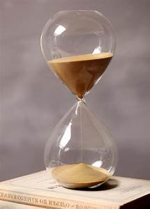 60 Minutes Timing Hourglass Height 24cm Creative Gift