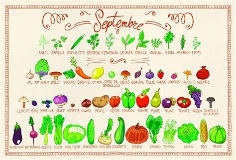 légumes de septembre tous les fruits et l 233 gumes du mois de septembre