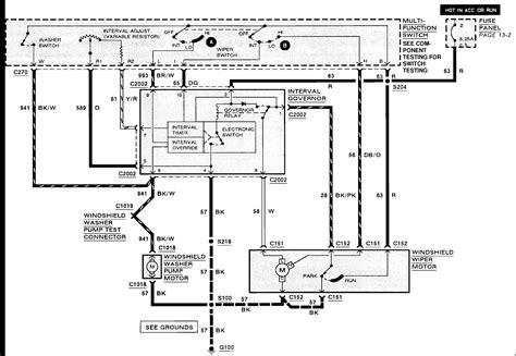 Wiper Switch Wiring Diagram Best Image