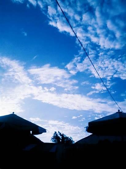 Langit Pagi Gambar Fotografi Dan