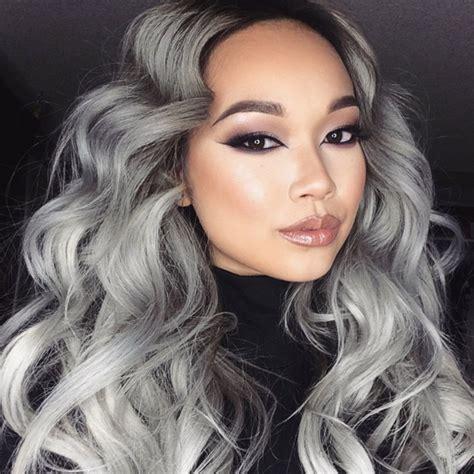 Couleur Gris Cheveux 1001 Looks Impeccables Avec Une Coloration Grise