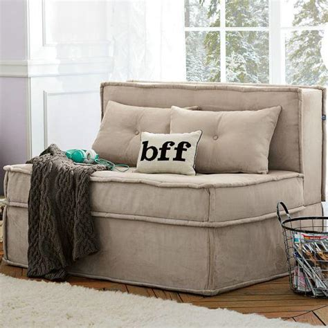 Cushy Sleeper Sofa by Cushy Sleeper Sofa From Pbteen Epic Wishlist