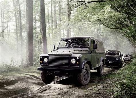 land rover military defender defender military rapid response vehicles