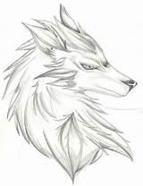 Drawing Gallows Drawings Getdrawings Wolf sketch template