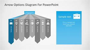 Free Arrow Options Diagram For Powerpoint