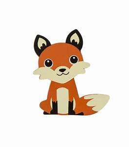Woodland Animal Painted Wood Shape Fox at Joann com