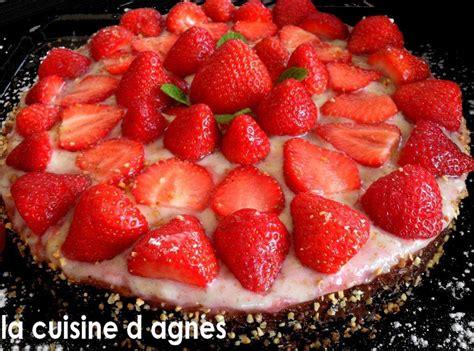 g 226 teau aux fraises la cuisine d agn 232 sla cuisine d agn 232 s