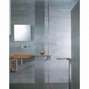 Carrelage De Douche : mosaique inox carrelage salle de bain douche damier 25 carrelage ~ Melissatoandfro.com Idées de Décoration