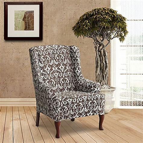 furniture skins slipcovers furnitureskins bali stretch wing chair slipcover in 1140