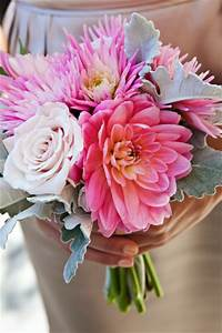 Bridal Bouquet with Roses and Dahlias | Bouquet Wedding Flower