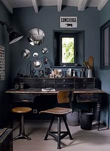 Bureau De Style : bureau de style industriel 23 id es et conseils d 39 am nagement ~ Teatrodelosmanantiales.com Idées de Décoration