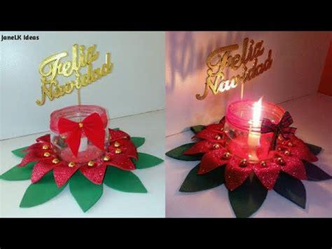centro de mesa navide 241 o con goma decoraciones navide 241 as 2018 manualidades navidad