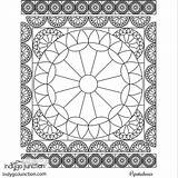 Notions Coloring Sewing Quilt Therapy Visit sketch template
