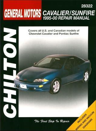 Chevy Cavalier Pontiac Sunfire Repair Manual